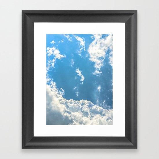Floating on Air Framed Art Print