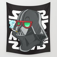 darth Wall Tapestries featuring Darth by Octofly Art