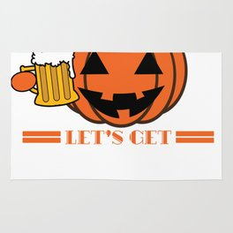 Funny & Cool Halloween Costume Tee Let s get smashed Rug