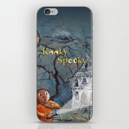 Marvin in the Kooky Spooky House iPhone Skin