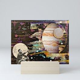 Reaching for Jupiter Mini Art Print