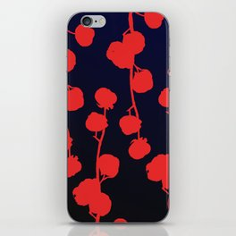 Cotton flower abstract iPhone Skin