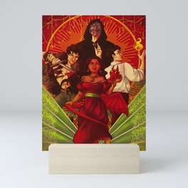 Book Cover Magician's Power Mini Art Print