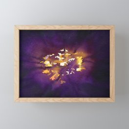 Burst Framed Mini Art Print