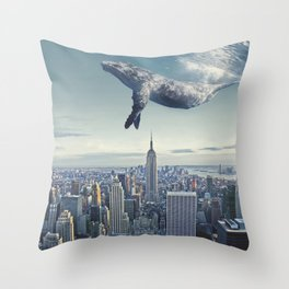 oWhale Throw Pillow