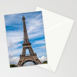 The Eiffel Tower in Paris France Skyline Stationery Cards