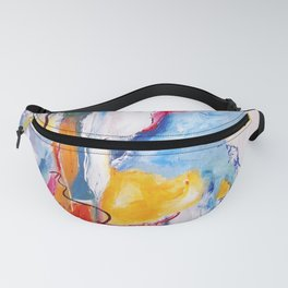 Come Down Isaiah 64 Christian Abstract Fanny Pack