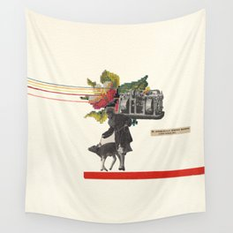 The Automatically Screwed Machine Wall Tapestry