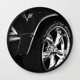 Drive safe Wall Clock