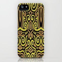 Golden Manipura 2 iPhone Case