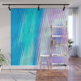 Re-Created Vertices No. 28 by Robert S. Lee Wall Mural