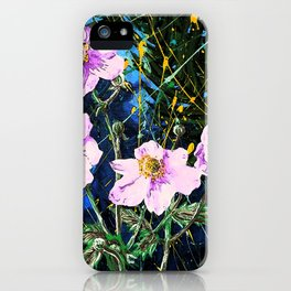 Flowers In My Father's Yard Remixed iPhone Case