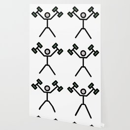 2 Dumbbells Cute Gift Idea Wallpaper