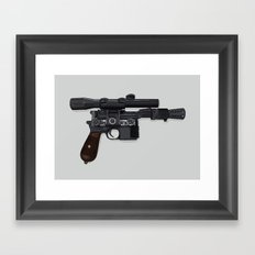 Who Shot First? Framed Art Print