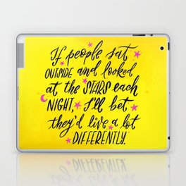 Look at the Stars - Yellow, Pink & Blue Laptop & iPad Skin