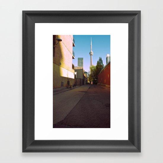 retronto... Framed Art Print