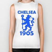 chelsea Biker Tanks featuring Chelsea 1905 by Sport_Designs