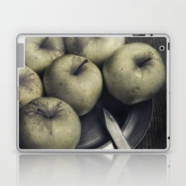 Still life with green apples Laptop & iPad Skin
