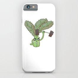Kale'd It, Funny Workout Gear, Fitness Gift, Vegetarian, Vegan iPhone Case