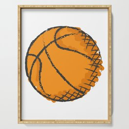 Basketball Best Basketball Player & Fan Gift Serving Tray