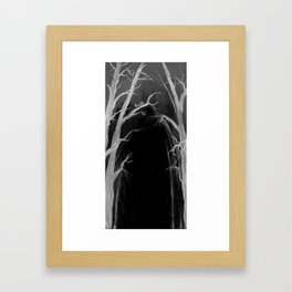 Someone has to be there... Framed Art Print