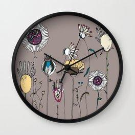 Miss Pickford's Garden Wall Clock