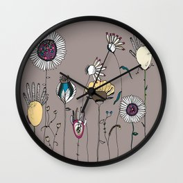 Miss Pickford's Garden Wall Clock