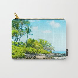 Mokapu Beach Pacific Ocean Tropical Beauty Maui Hawaii Carry-All Pouch