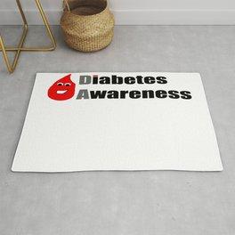 Diabetes Awareness Rug