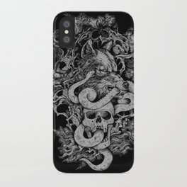 The End Of Light iPhone Case