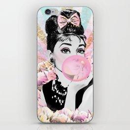 Audrey Hepburn, Pop Princess iPhone Skin
