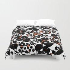 PANDA! PANDA! PANDA! Duvet Cover