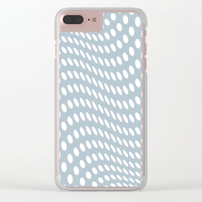Waving - Optical Game 27 Clear iPhone Case