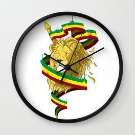 Reague Lion Wall Clock