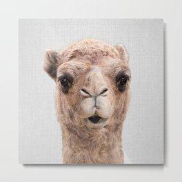 Camel - Colorful Metal Print