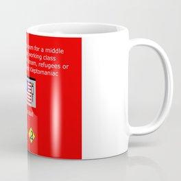 The Plutocracy in America Coffee Mug