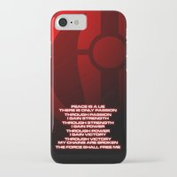 sith iPhone & iPod Cases featuring Sith Code by Dustin Dailey