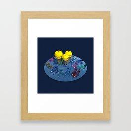 Princesses Party Framed Art Print