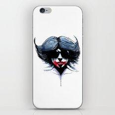 red black 02 iPhone & iPod Skin