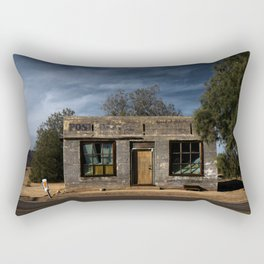 Abandoned Post Office in Kelso California Rectangular Pillow