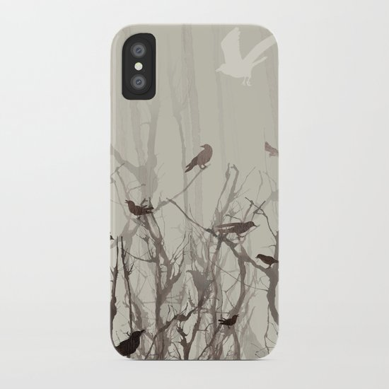 Songs at Dusk iPhone Case