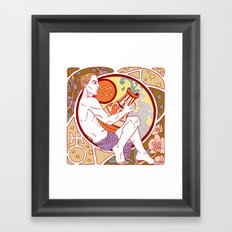 Happy Birthday, Aquarius! Framed Art Print