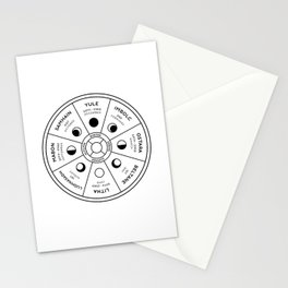 Wheel of the Year Stationery Cards