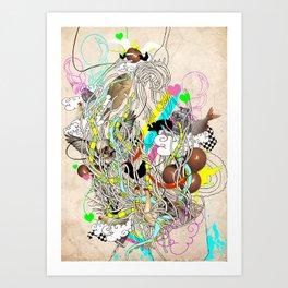spaghetiii Art Print