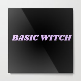 basic witch Metal Print