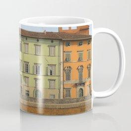 Pisa in color Tuscany Italy Coffee Mug
