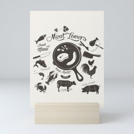 Meat Lovers Mini Art Print