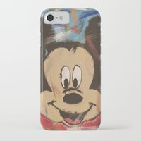 mickey iPhone & iPod Cases featuring Mickey by Jason L Cohen Fine Art