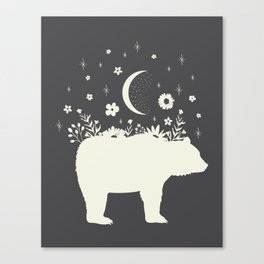 Medicine Bear Canvas Print
