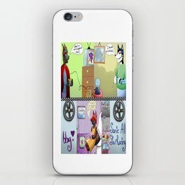 Zooming With Friends iPhone Skin